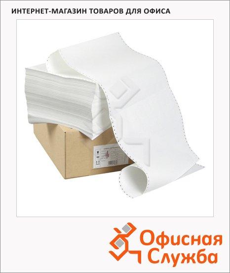 Перфорированная бумага Mega Office Стандарт 210х305мм, белизна 100%CIE, с неотрывной перфорацией, 4000шт