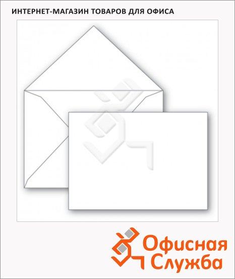 Конверт почтовый Ряжск С4 белый, 229х324мм, 500шт, без клеевого слоя, 115г/м2