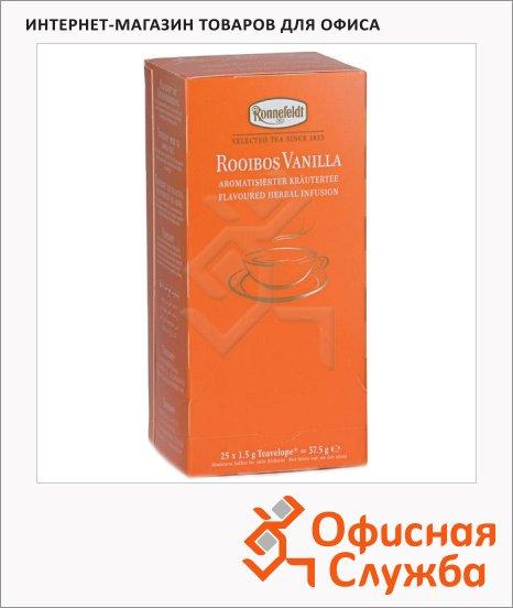 фото: Чай Ronnefeldt Teavelope Rooibos Vanilla травяной, 25 пакетиков