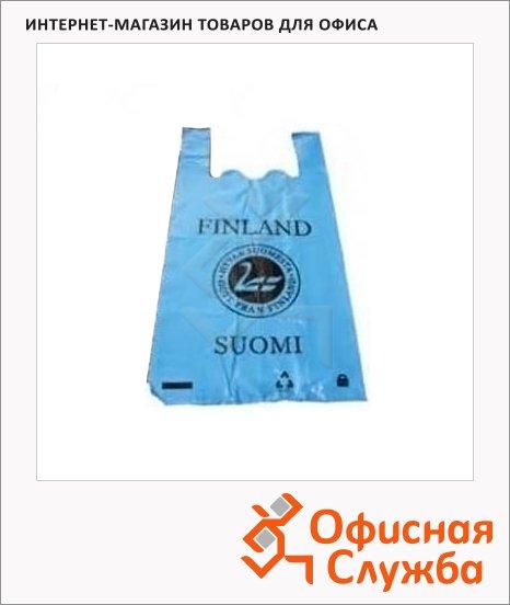 Пакет Майка Suomi Finland 28х17х55см, 35мкм, 100 шт/уп, с рисунком