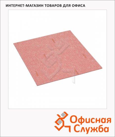 Салфетка хозяйственная Vileda Pro Веттекс Классик 18х20см, красная, 111685