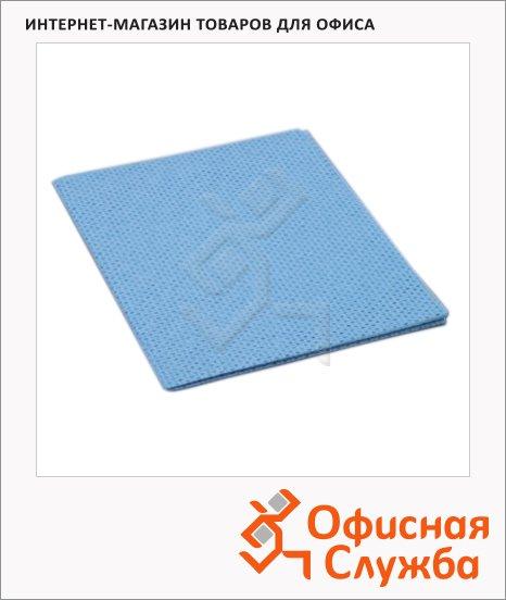 фото: Салфетка хозяйственная Vileda Pro универсальная 38х40см голубая, 101029