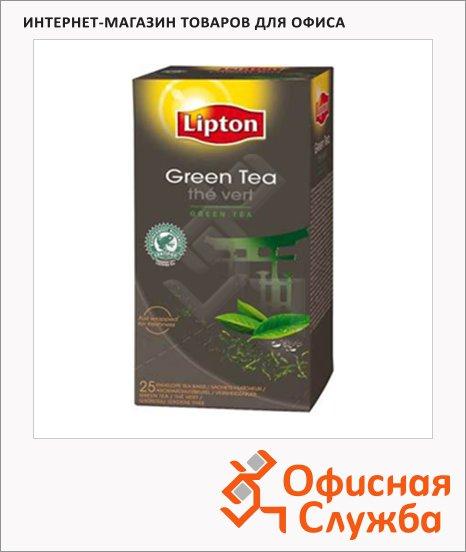 фото: Чай Lipton Viking Green Classic зеленый, 25 пакетиков