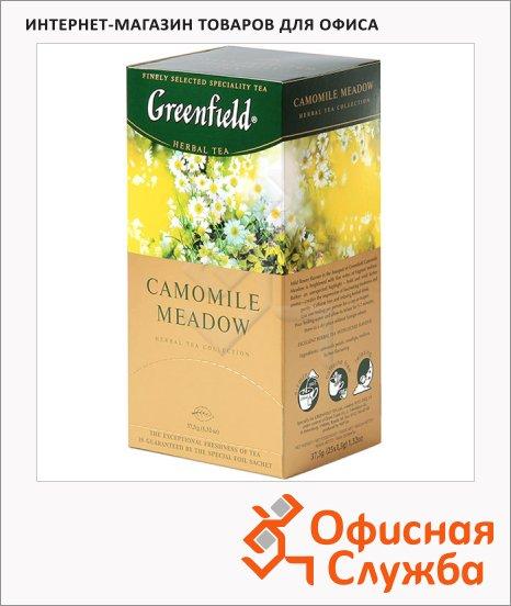 фото: Чай Greenfield Camomile Medow (Камомайл Медоу) травяной, 25 пакетиков