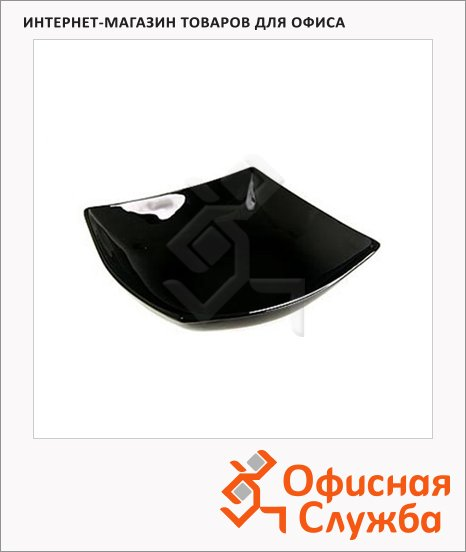 Салатник Luminarc Quadrato черный, 16 х 16см