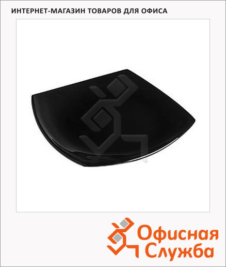 Тарелка десертная Luminarc Quadrato черная, 19см