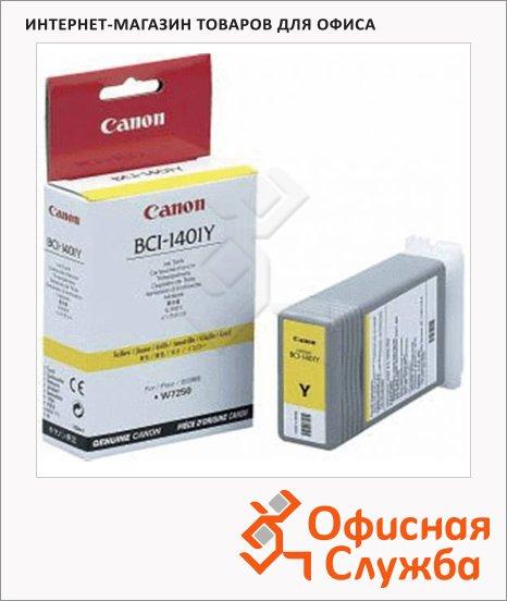 фото: Картридж струйный Canon BCI-1401Y желтый