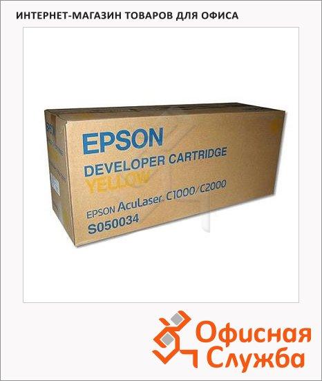 фото: Тонер-картридж Epson C13S050034 желтый
