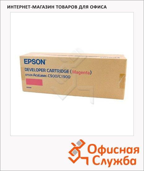 фото: Тонер-картридж Epson C13S050098 пурпурный