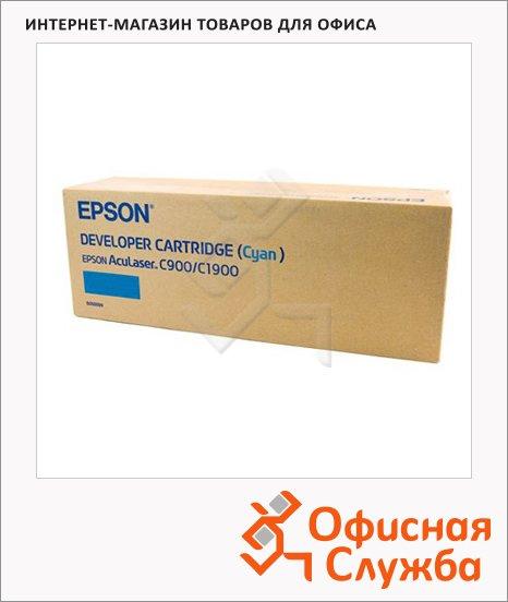 фото: Тонер-картридж Epson C13S050099 голубой