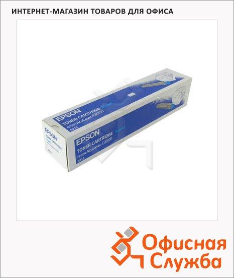 фото: Тонер-картридж Epson C13S050212 голубой