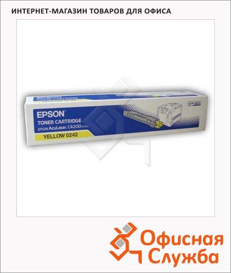 фото: Тонер-картридж Epson C13S050242 желтый