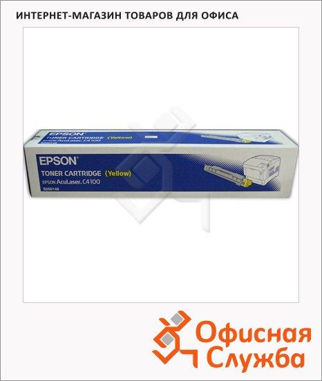 Тонер-картридж Epson C13S050148, желтый