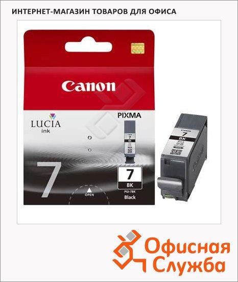 Картридж струйный Canon PGI-7BK, черный, (2444B001)