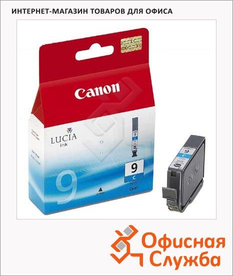 Картридж струйный Canon PGI-9C, голубой, (1035B001)