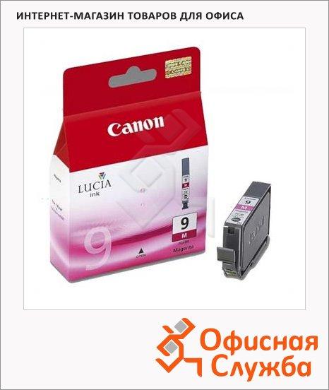 Картридж струйный Canon PGI-9M, пурпурный, (1036B001)