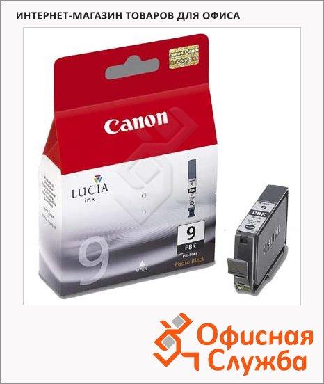 Картридж струйный Canon PGI-9PBK, черный, (1034B001)