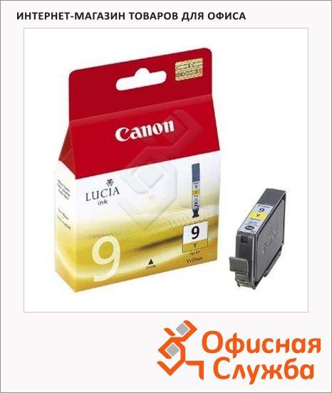 фото: Картридж струйный Canon PGI-9Y желтый, (1037B001)