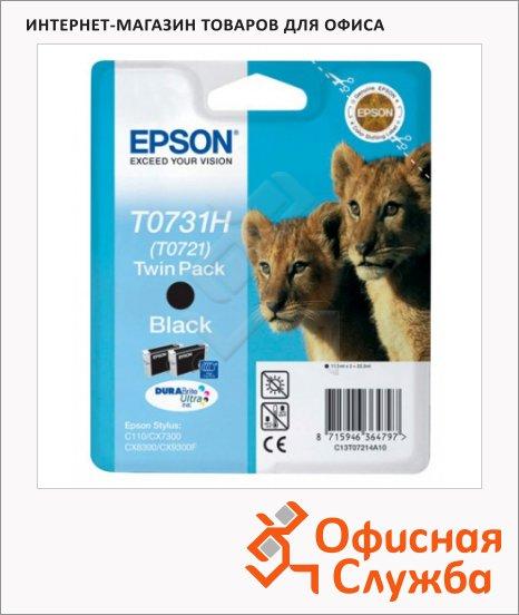 фото: Картридж струйный Epson C13 T10414A10 черный, 2шт/уп