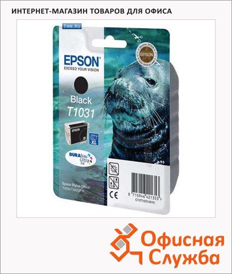 фото: Картридж струйный Epson C13T10314 A10 черный