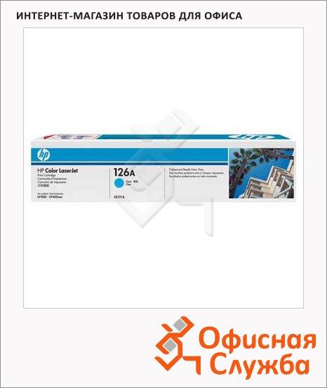 Тонер-картридж Hp CE311A, голубой