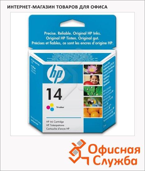 Картридж струйный Hp 14 C5010D, 3 цвета