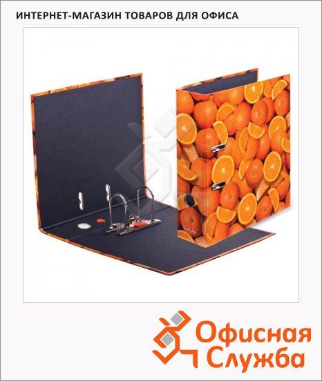 Папка-регистратор А4 Herlitz maX.file Апельсины, 80мм, ламинированный картон