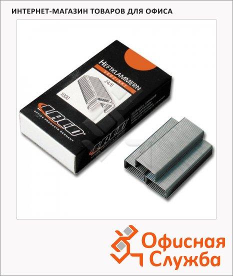 Скобы для степлера Laco №24/6, 1000 шт