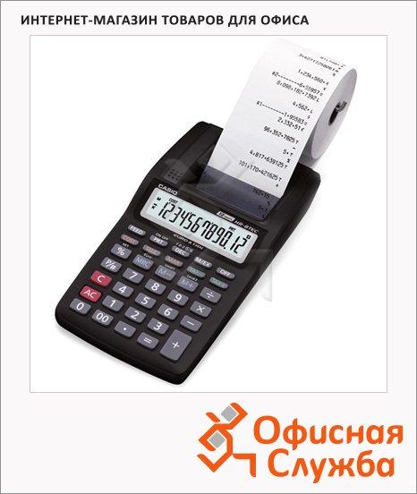 фото: Калькулятор с печатающим устройством Casio HR-8TEC одноцветная печать 12 разрядов