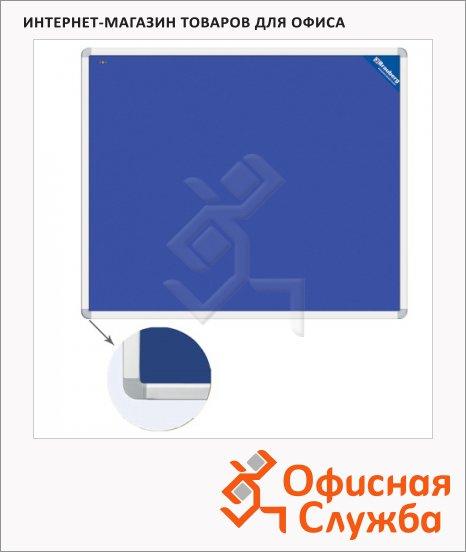 Доска пробковая Brauberg 231700, синяя, 90 х 120 см
