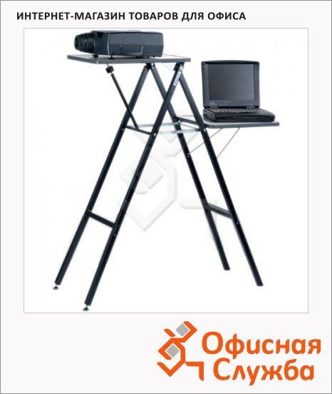 Подставка для проектора и ноутбука Projecta Gigant 115х90х40см, 15-25 кг, 2 полки, складная, телескопическая