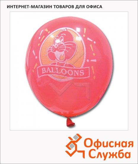 фото: Воздушные шары Веселая Затея 12 неоновых цветов 25см, 100шт, в пакете, 1103-0006