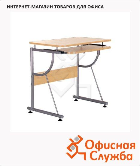 Стол компьютерный Nowy Styl NS СК-103 ДСП, 810х570х760мм, бук