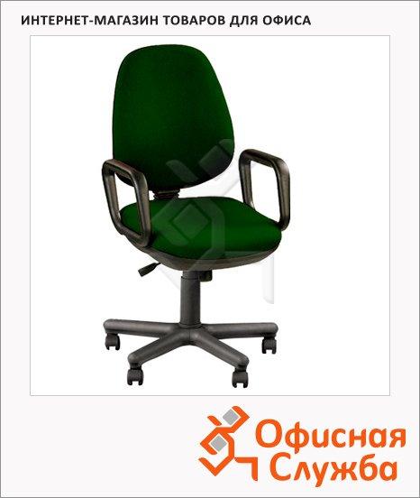 Кресло офисное Nowy Styl Comfort GTP ткань, крестовина пластик, зеленая