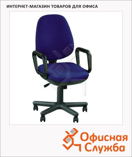 Кресло офисное Nowy Styl Comfort GTP ткань, крестовина пластик, синяя