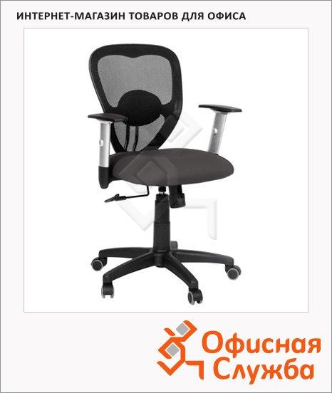 Кресло офисное Chairman 451 ткань, TW, крестовина хром, черная