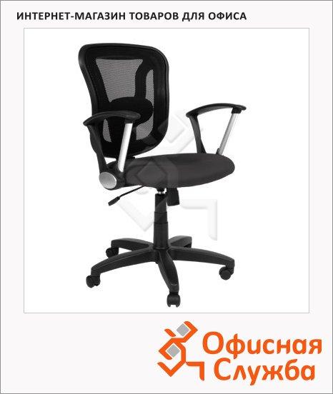 фото: Кресло офисное Chairman 452 ткань черная, TW, крестовина пластик