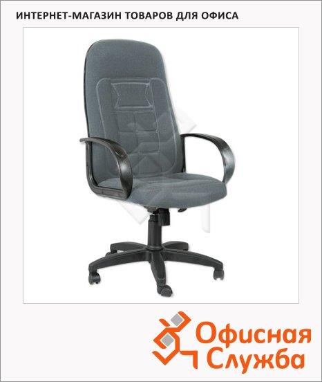 Кресло руководителя Chairman 727 ткань, крестовина пластик, серая
