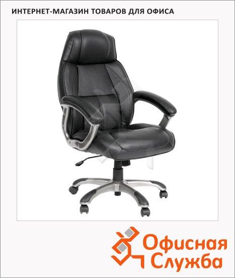 Кресло руководителя Chairman 436 нат. кожа, крестовина пластик, черная