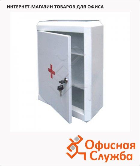 Аптечка офисная Призма 2 съемные полки, ключевой замок, 330x280x140мм