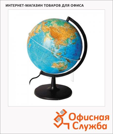 Глобус физический Глобусный Мир 21см, на треугольной подставке