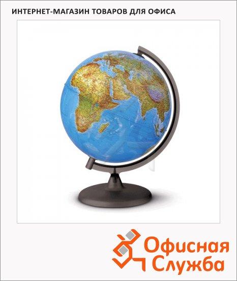 фото: Глобус физико-политический Tecnodidattica Orion 25см на круглой подставке, с подсветкой