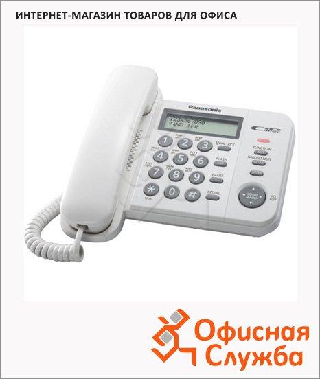 фото: Телефон проводной Panasonic KX-TS2356RUB белый