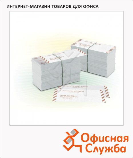 фото: Накладка для упаковки корешков банкнот Orfix номинал 100руб 2000шт