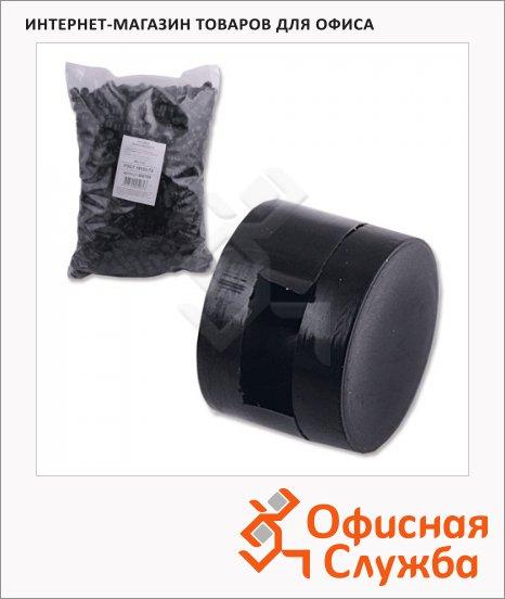 Пломбы пластиковые Новейшие Технологии черные, 10x1x7мм, 1кг/2200шт