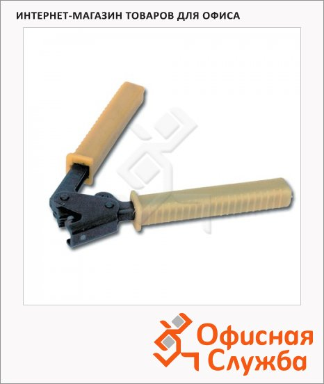 Пломбиратор усиленный 10x7мм, для свинцовых и пластмассовых пломб