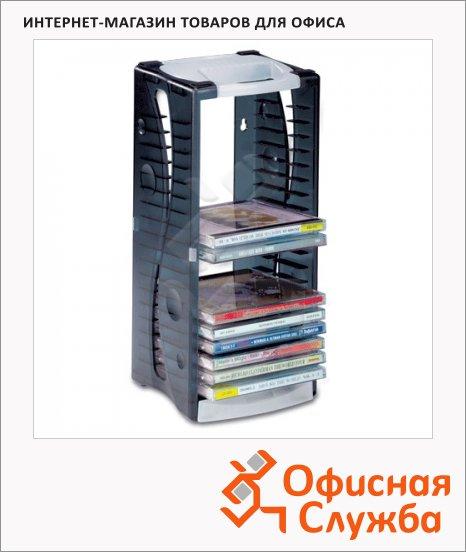 Стойка для CD/DVD Brauberg на 20 дисков