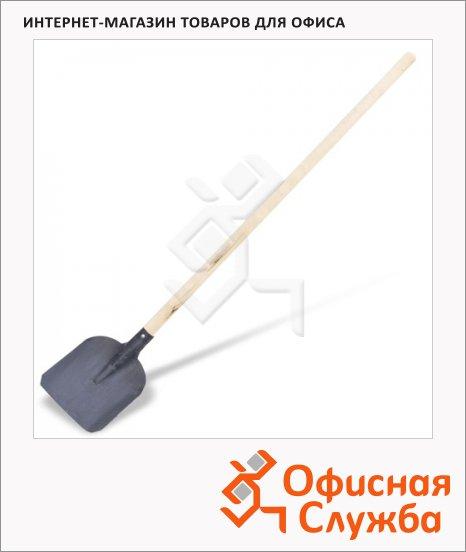 фото: Лопата совковая 23х27см с черенком 143см