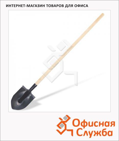 Лопата штыковая 20х28.5см, с черенком 150см