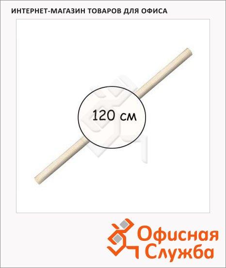 Черенок для лопаты 120см, d=4см, деревянный